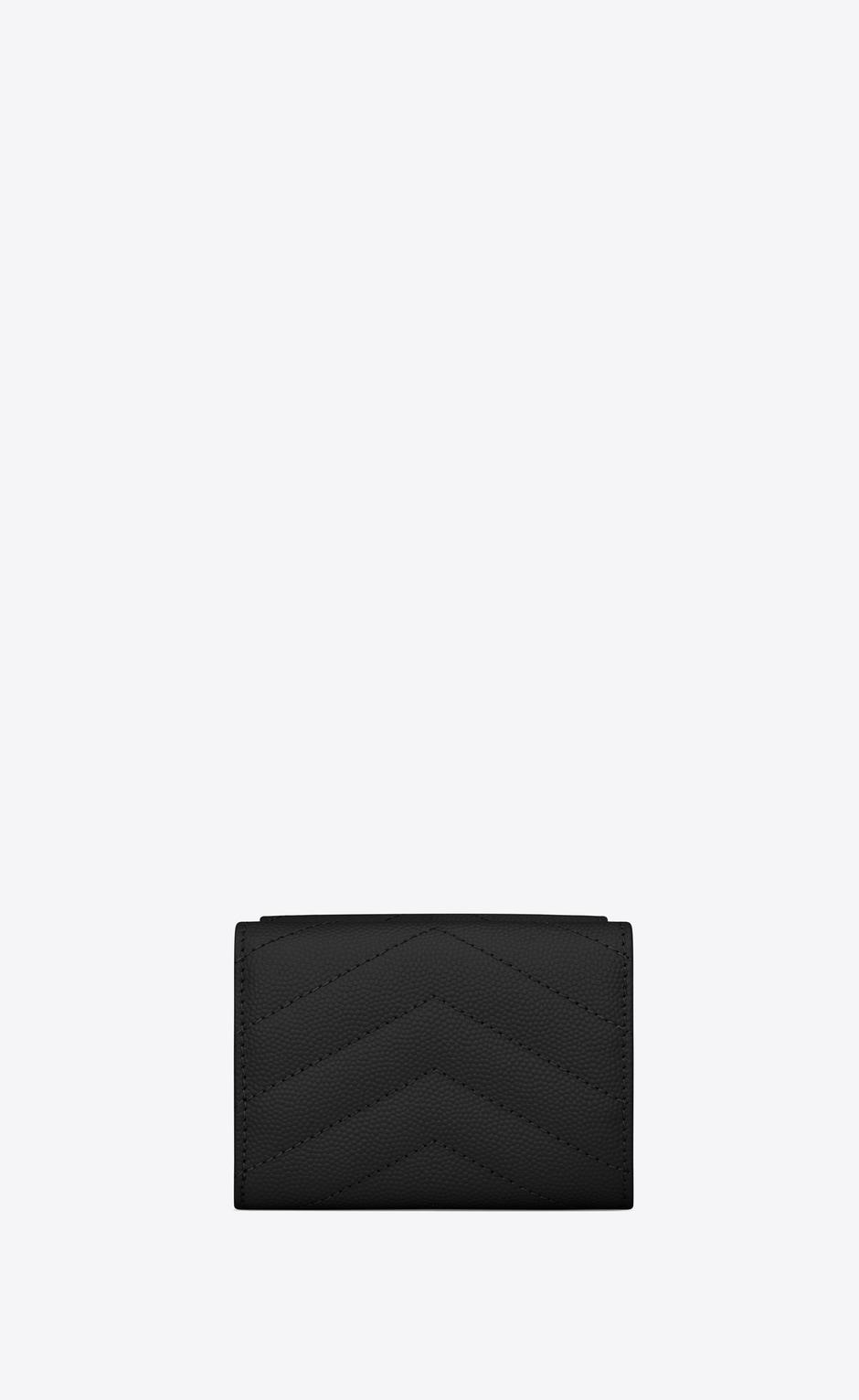 유럽직배송 입생로랑 SAINT LAURENT Monogram Saint Laurent wallet in grain de poudre embossed leather 602791BOWA11000