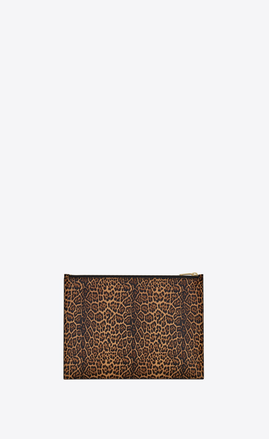유럽직배송 입생로랑 SAINT LAURENT saint laurent paris medium pouch in leopard-print leather 63509812S0J2673