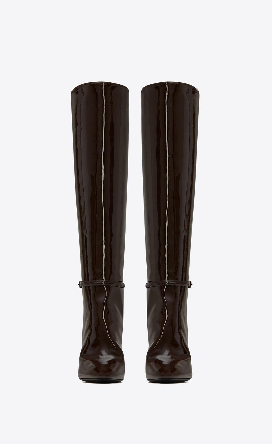 유럽직배송 입생로랑 SAINT LAURENT 76 boots in patent leather 6337271TV002132