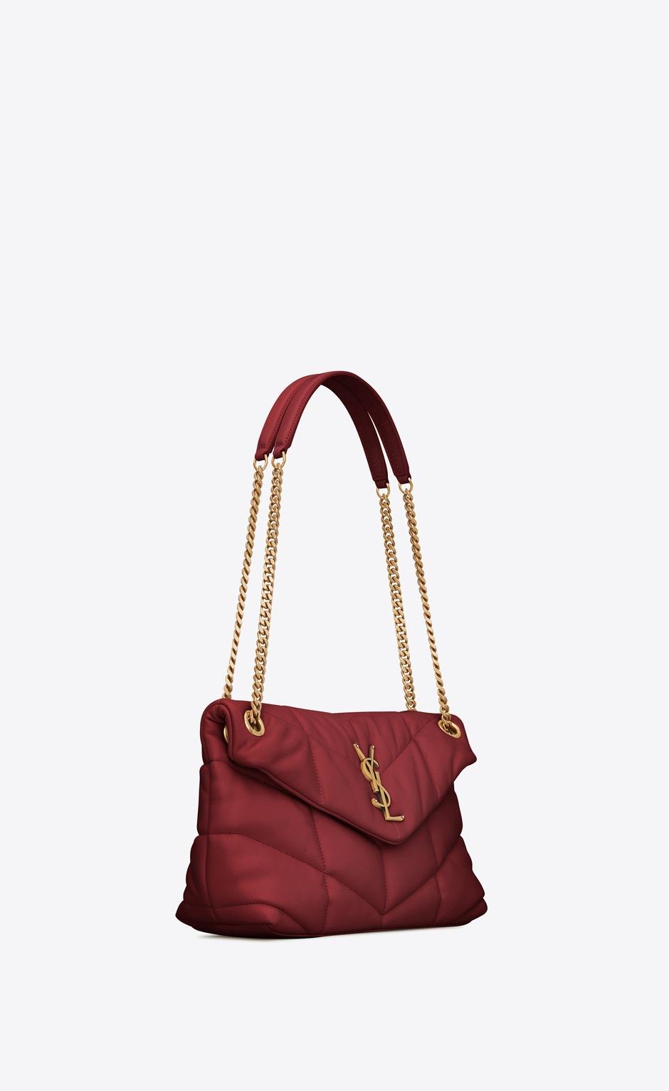 유럽직배송 입생로랑 SAINT LAURENT LOULOU PUFFER Small bag in quilted lambskin 5774761EL076008