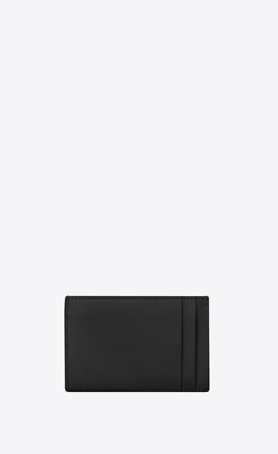 유럽직배송 입생로랑 SAINT LAURENT TINY MONOGRAM card case in smooth leather 63526402G0J1000