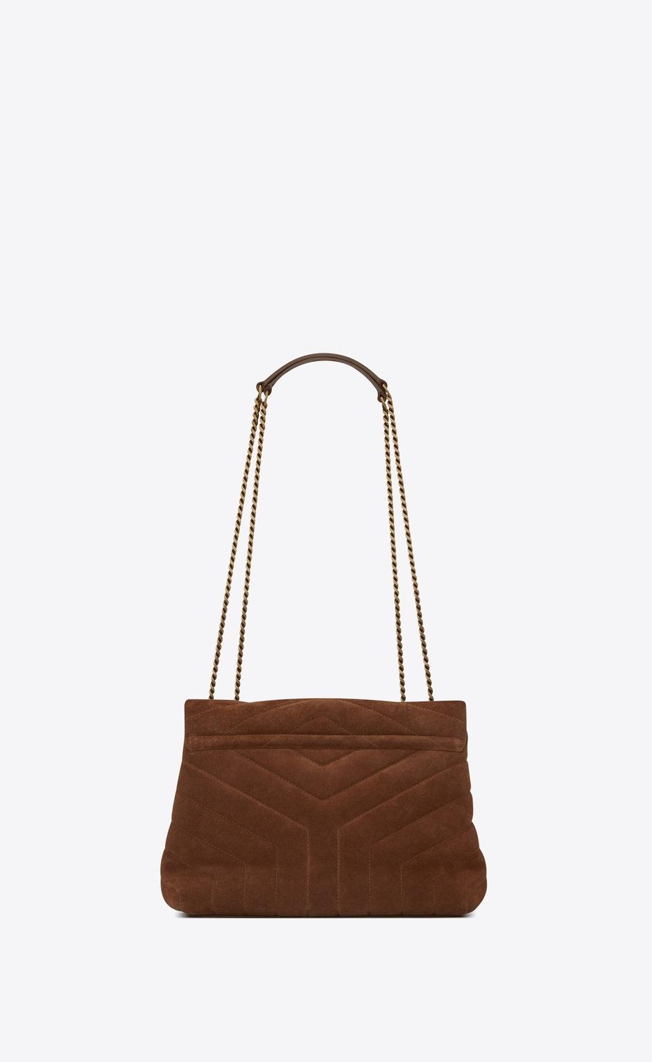 유럽직배송 입생로랑 SAINT LAURENT LOULOU small bag with rope monogram in suede 6325461ZT272759