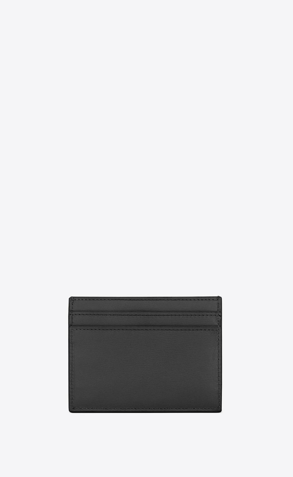 유럽직배송 입생로랑 SAINT LAURENT TINY MONOGRAM card case in smooth leather 63526202G0J1000