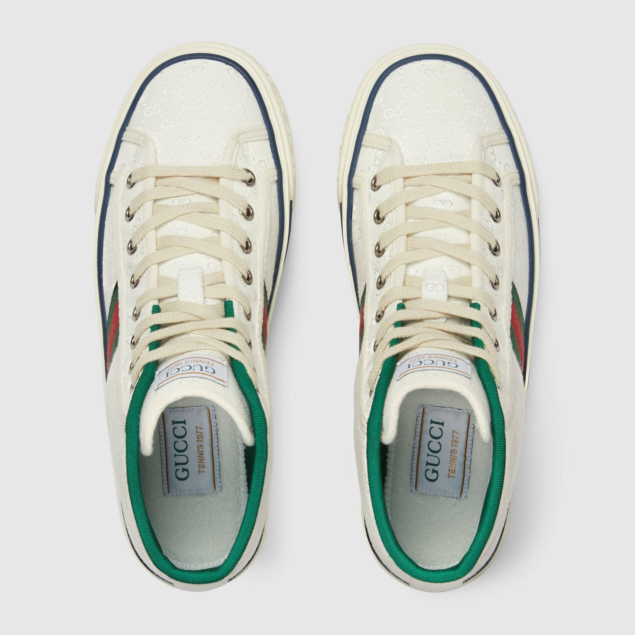 유럽직배송 구찌 GUCCI Gucci - Women's Gucci Tennis 1977 high top sneaker 62783899WM09074