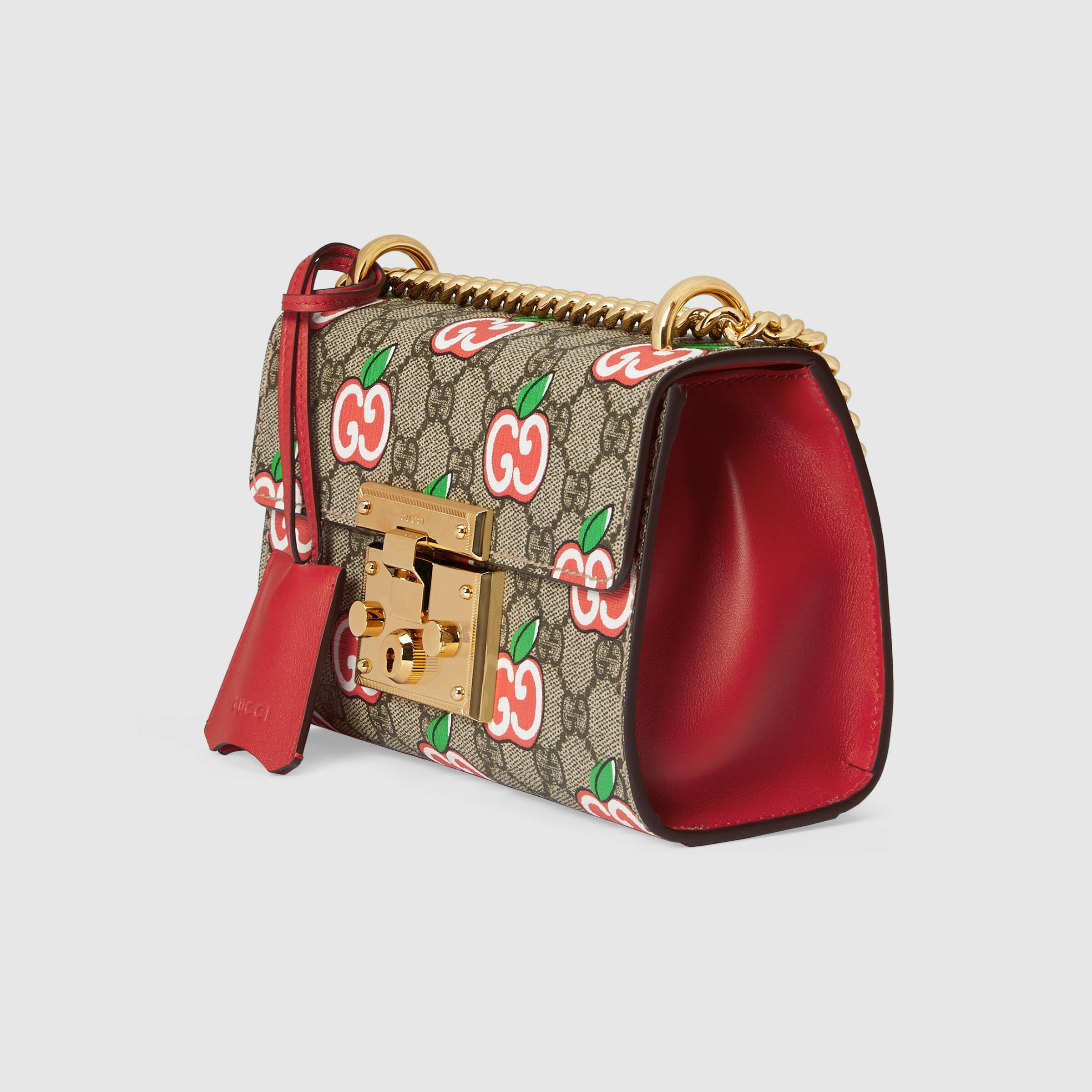 유럽직배송 구찌 GUCCI Gucci Chinese Valentine's Day Padlock small shoulder bag 4094872EVEG8646