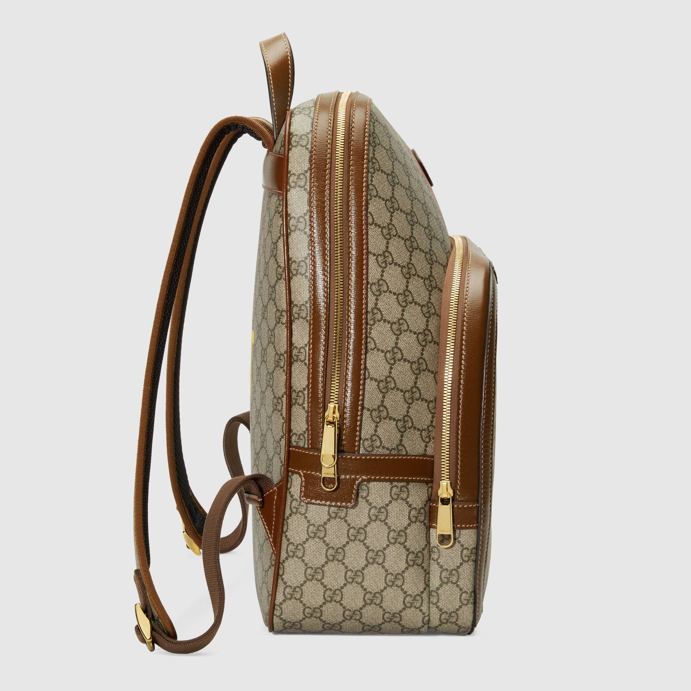 유럽직배송 구찌 GUCCI Gucci 'Fake/Not' print medium backpack 6366542GCCG8289
