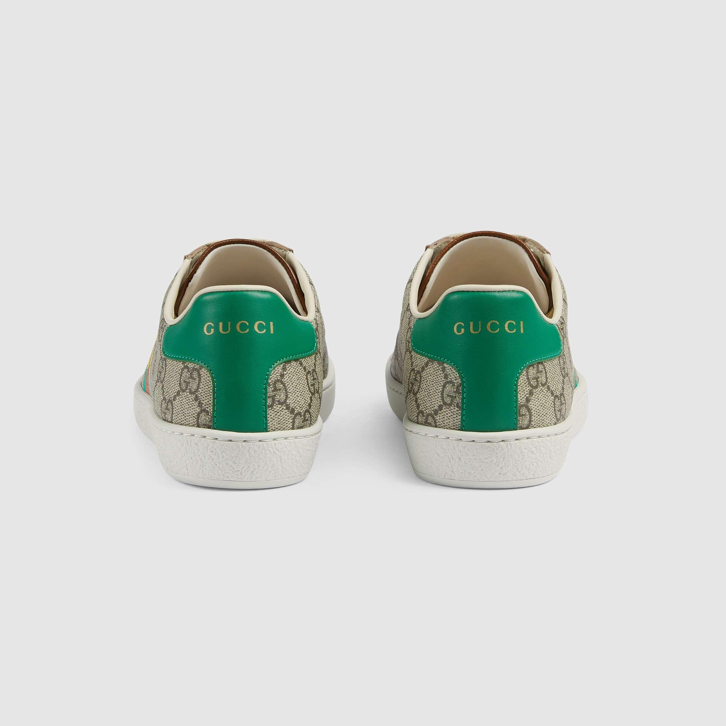 유럽직배송 구찌 GUCCI Gucci Women's 'Fake/Not' print Ace sneaker 6363592GC108260