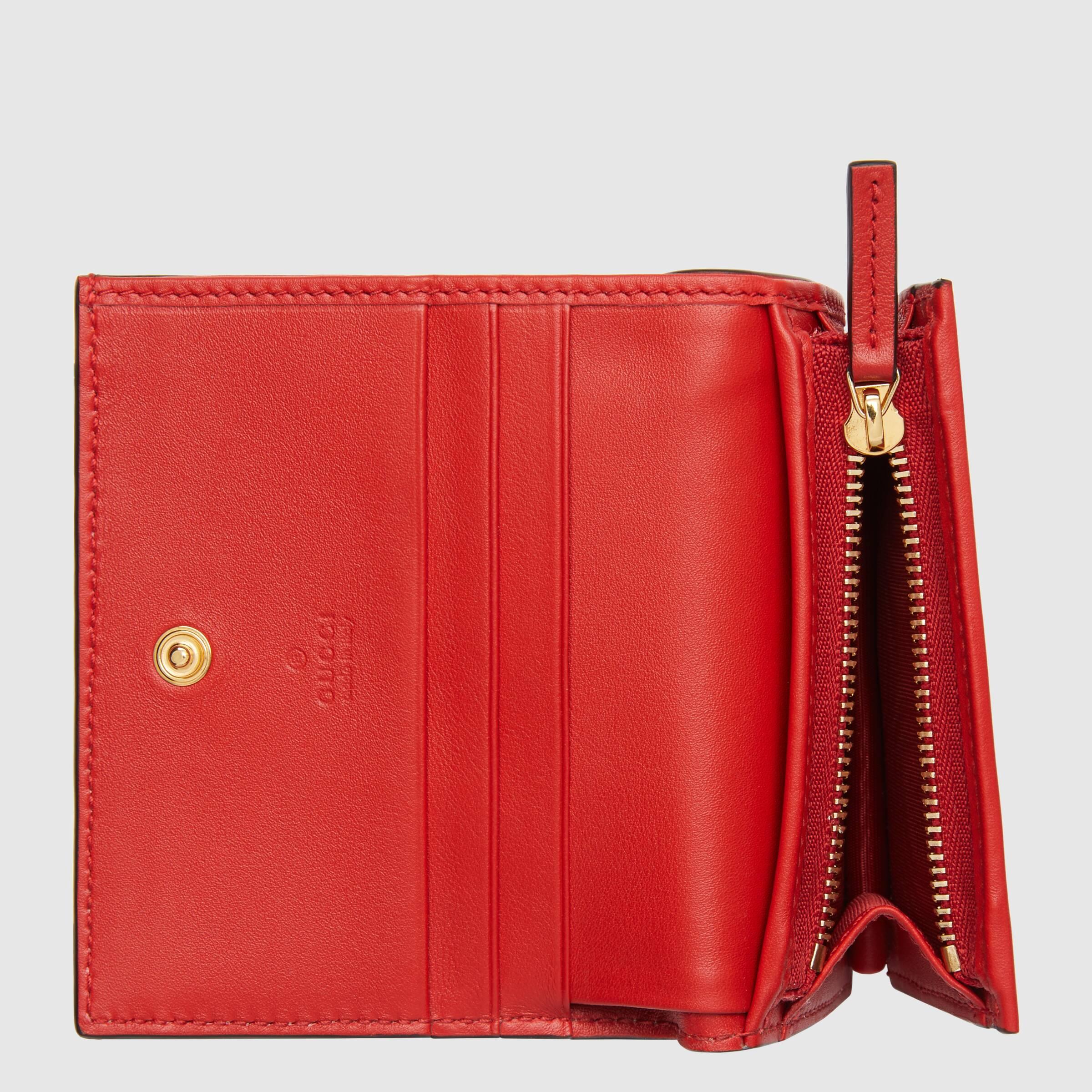 유럽직배송 구찌 GUCCI Gucci Chinese Valentine's Day card case wallet 6246412BQAG8646