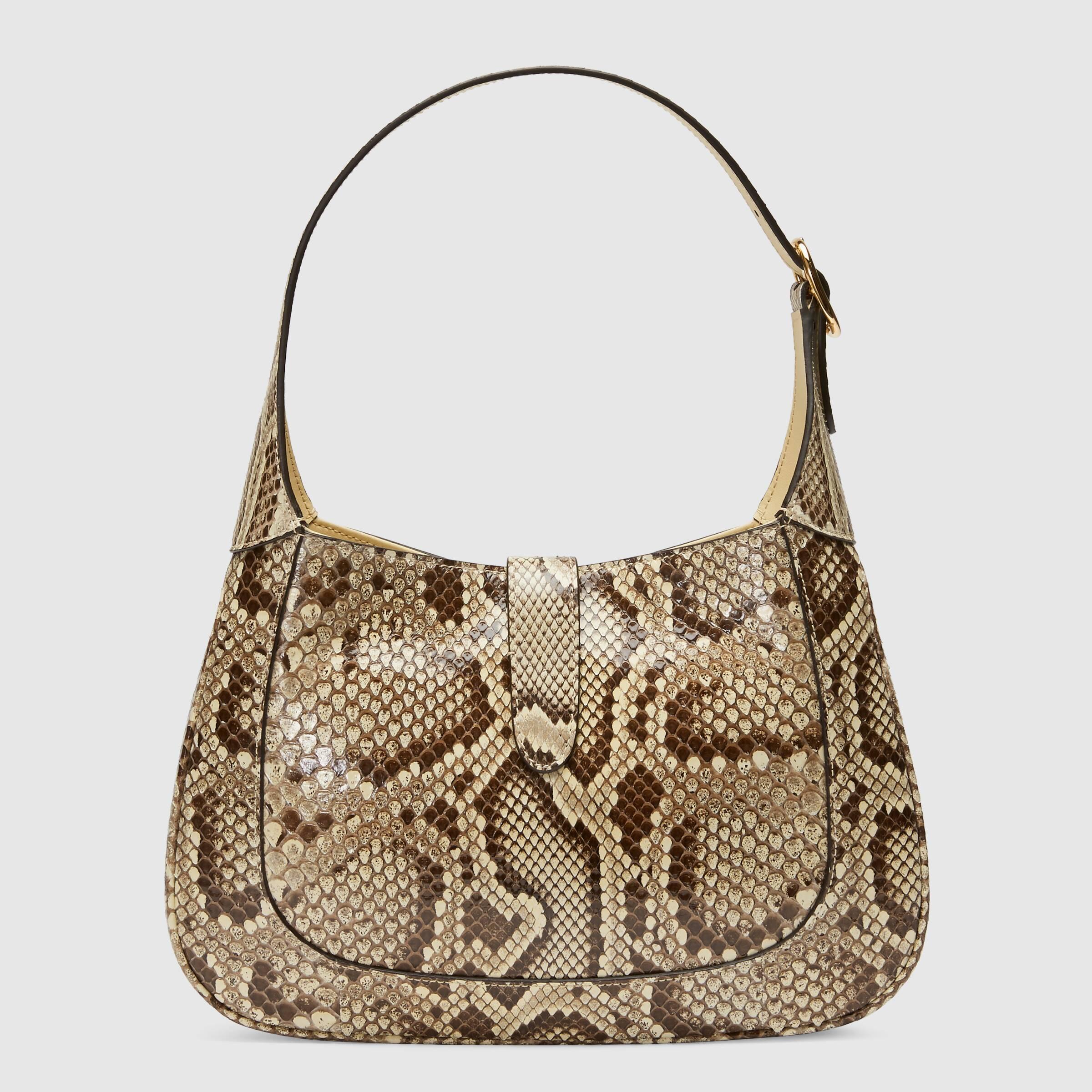 유럽직배송 구찌 GUCCI Gucci Jackie 1961 python small hobo bag 636709E0P0G9528