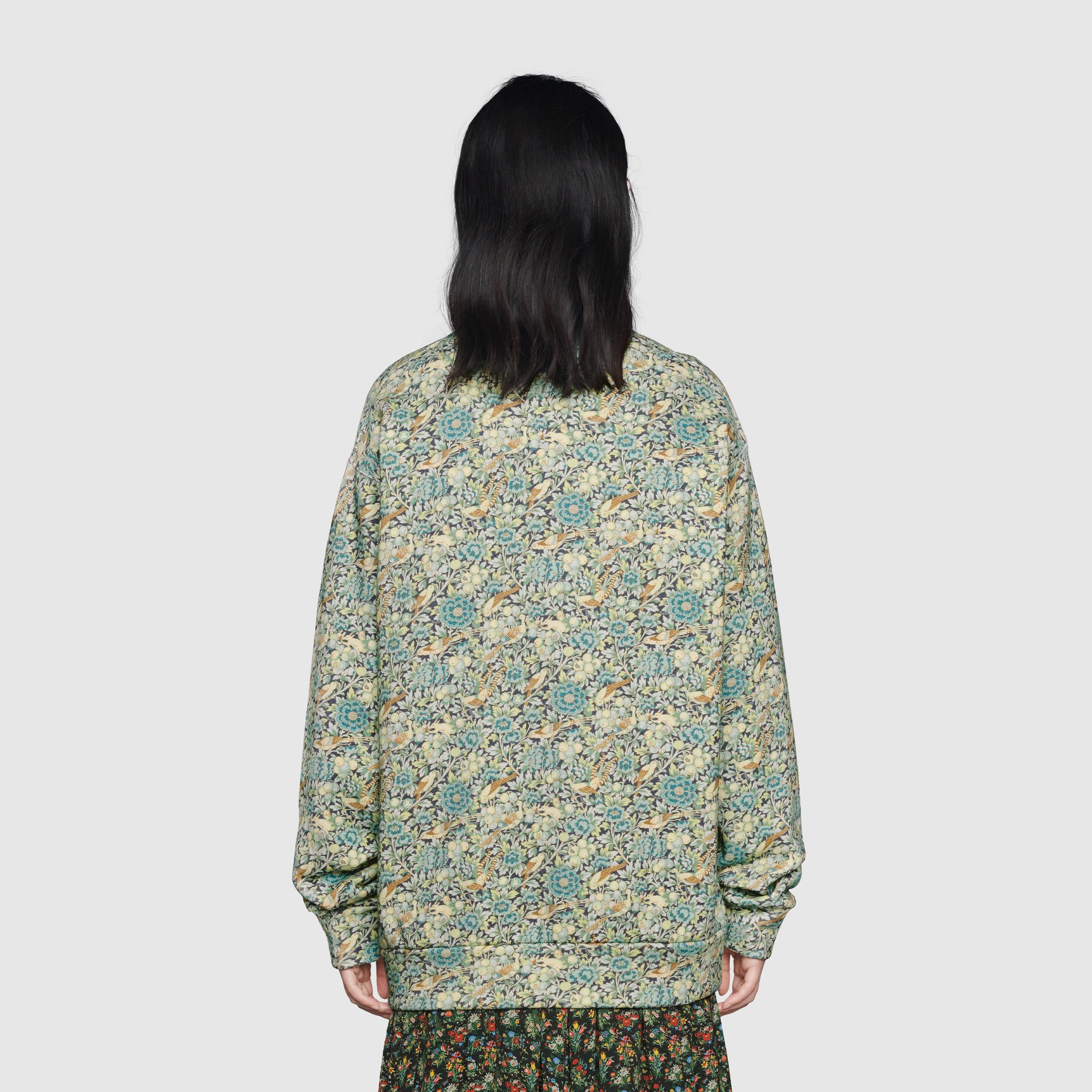 유럽직배송 구찌 GUCCI Gucci - Online Exclusive Gucci Liberty sweatshirt 638043XJCZ84581