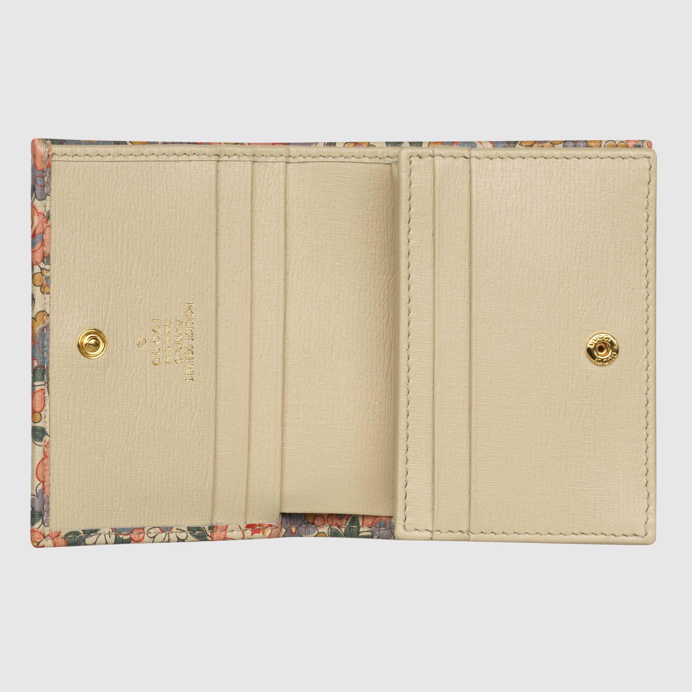 유럽직배송 구찌 GUCCI Gucci - Gucci Horsebit 1955 Liberty London card case wallet 62188712QBE5965