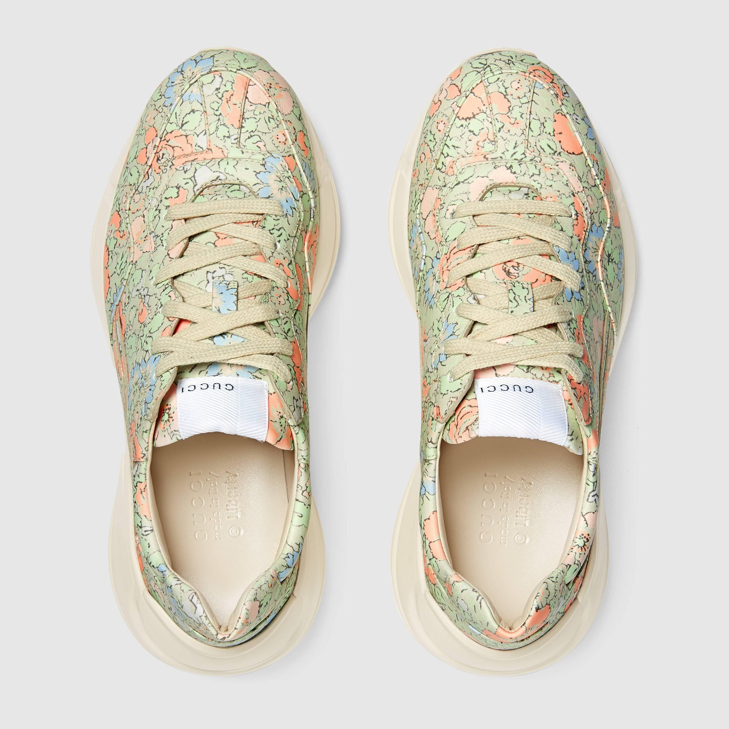 유럽직배송 구찌 GUCCI Gucci Women's Rhyton Liberty London sneaker 6420582JV003932