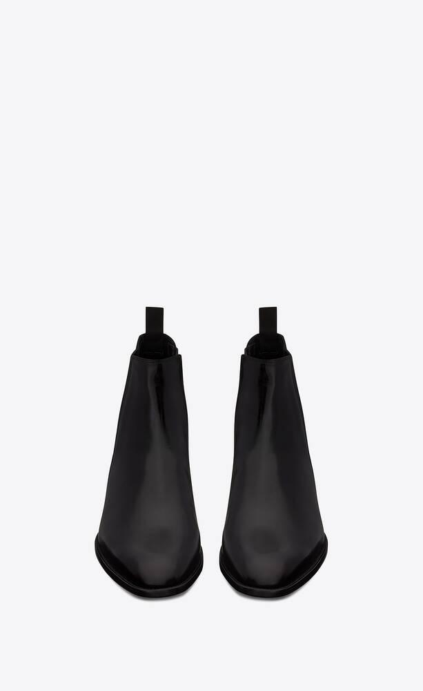 유럽직배송 입생로랑 SAINT LAURENT wyatt chelsea boots in smooth leather 6341951YL001000
