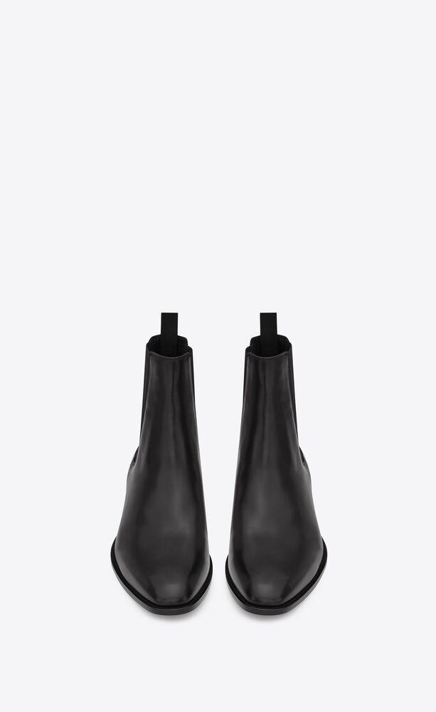 유럽직배송 입생로랑 SAINT LAURENT wyatt chelsea boots in smooth leather 6341941YL001000