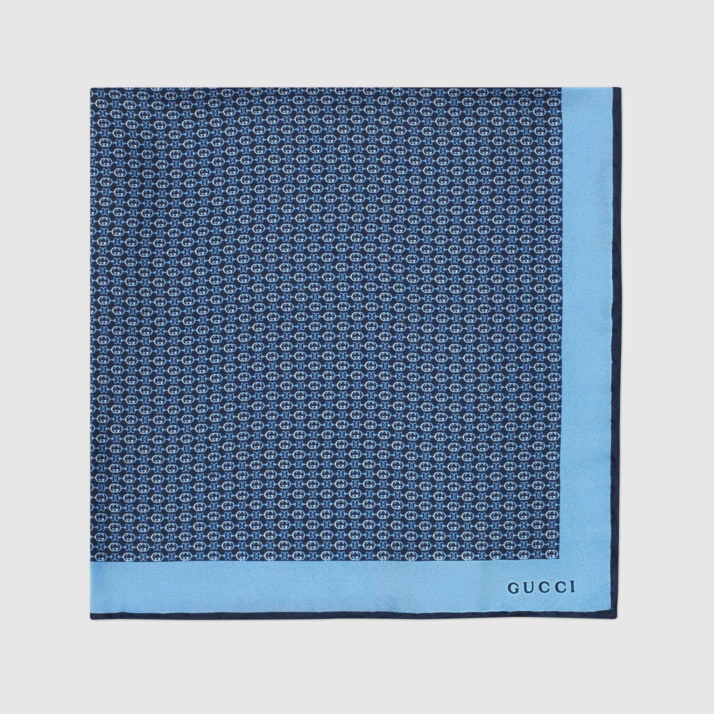 유럽직배송 구찌 GUCCI Gucci Silk twill pocket square 6496364G0014178