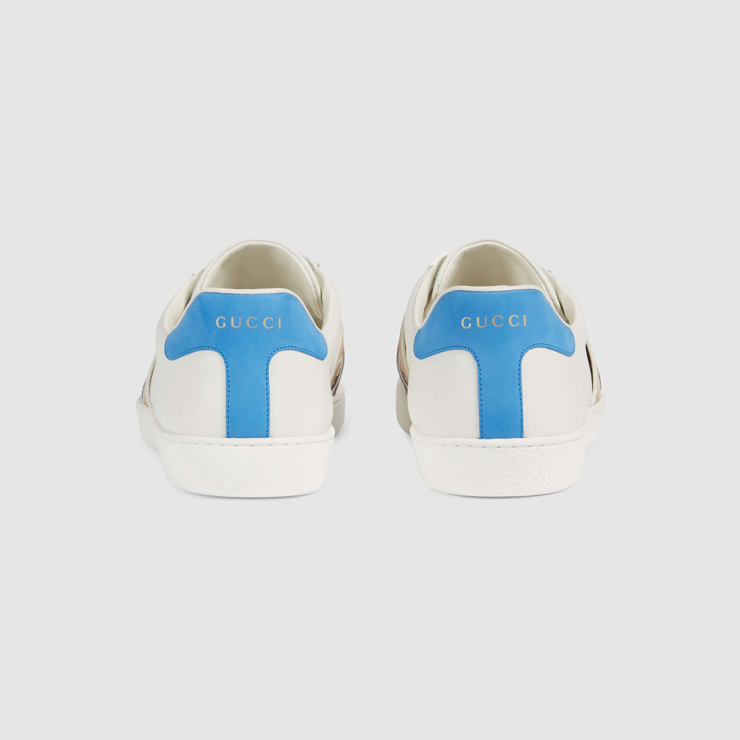 유럽직배송 구찌 GUCCI Gucci Men's Ace sneaker with Interlocking G 6509891XGF09068