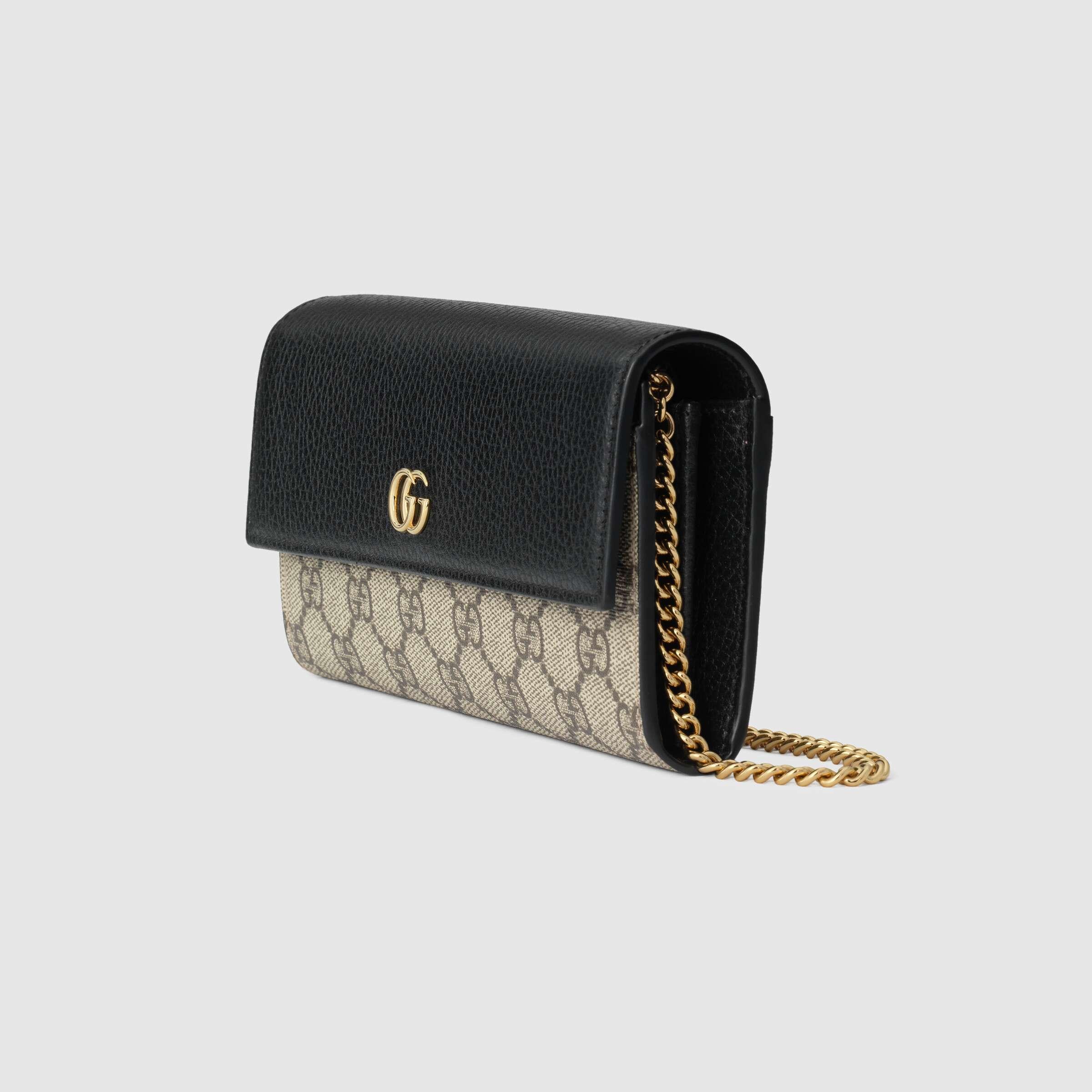 유럽직배송 구찌 GUCCI Gucci GG Marmont chain wallet 54658517WAG1283