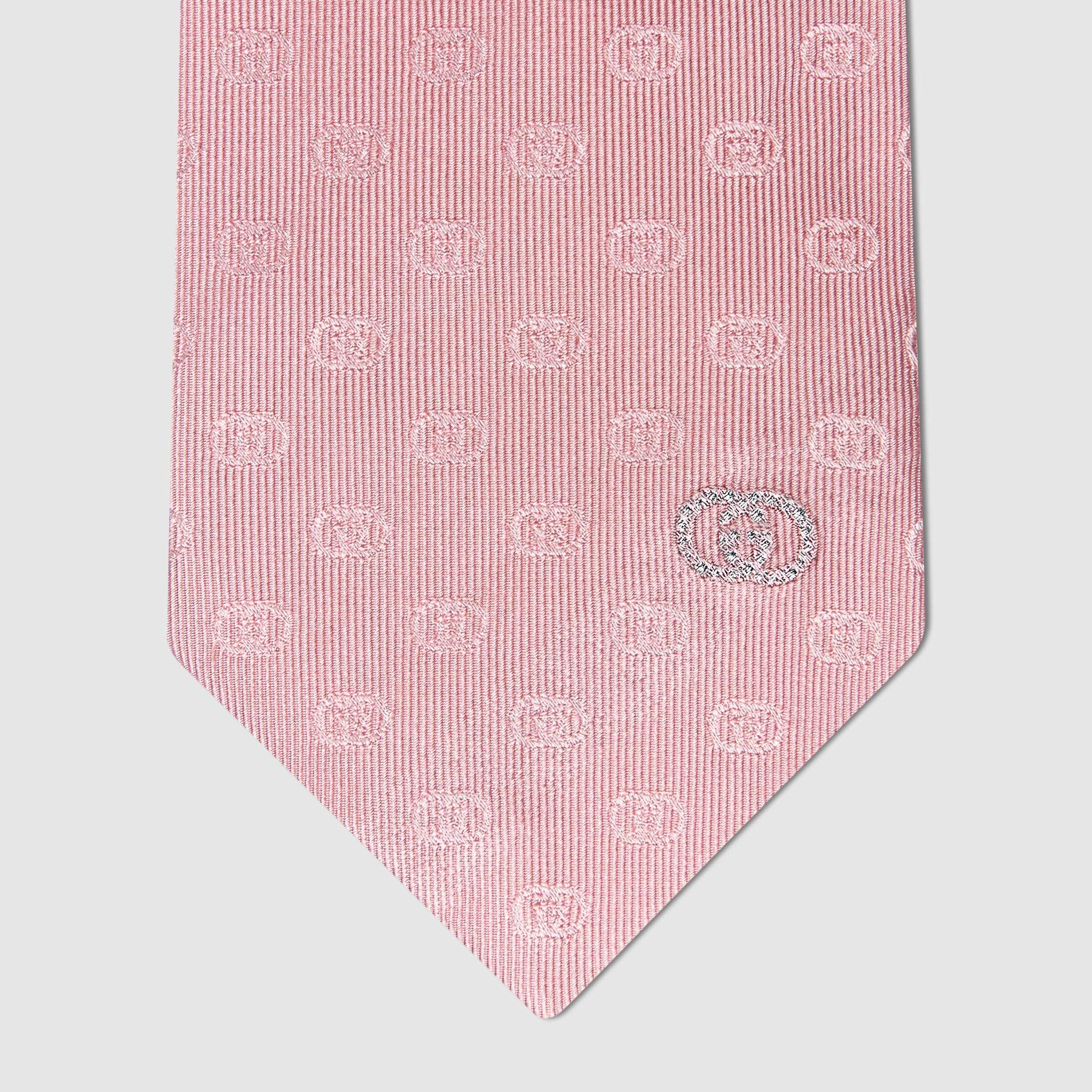 유럽직배송 구찌 GUCCI Gucci Interlocking G silk tie 6440014EAAB5700