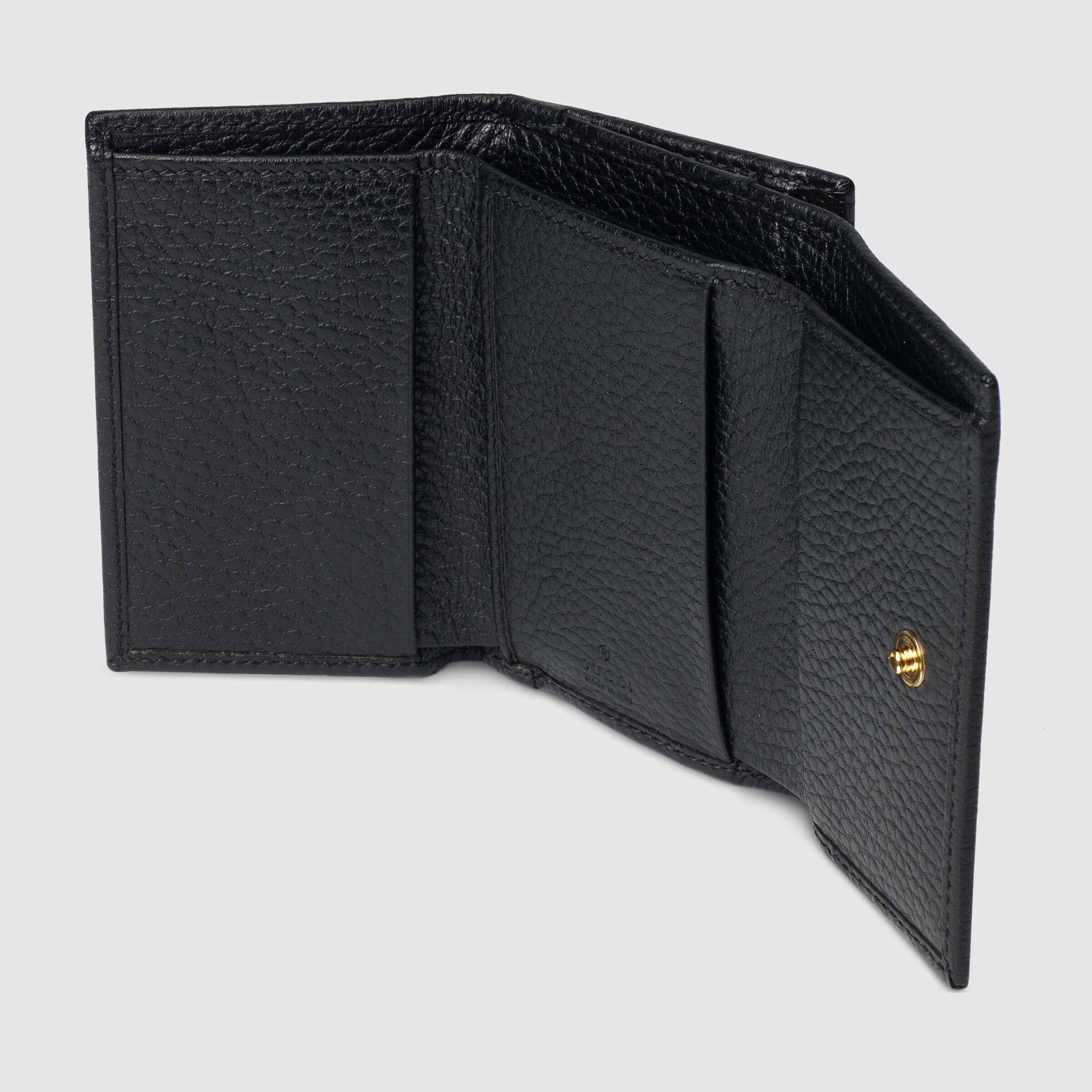 유럽직배송 구찌 GUCCI Gucci GG Marmont medium wallet 644407CAO0G1000