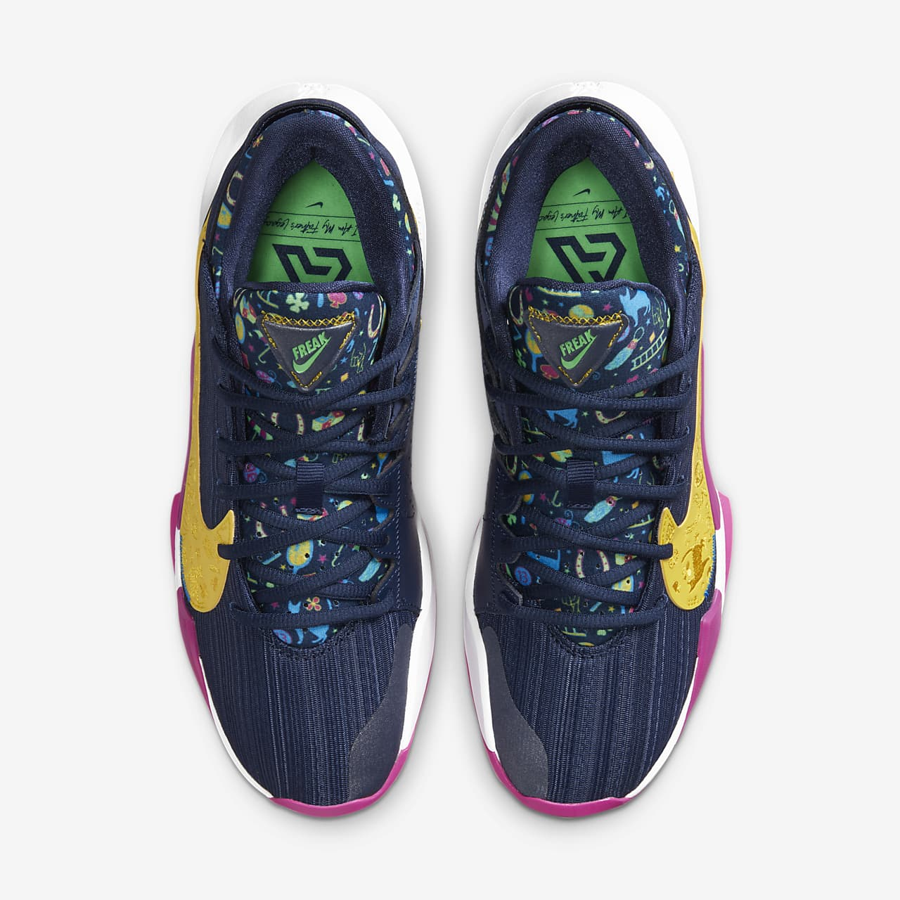 유럽직배송 나이키 NIKE Zoom Freak 2 Basketball Shoe DB4689-400
