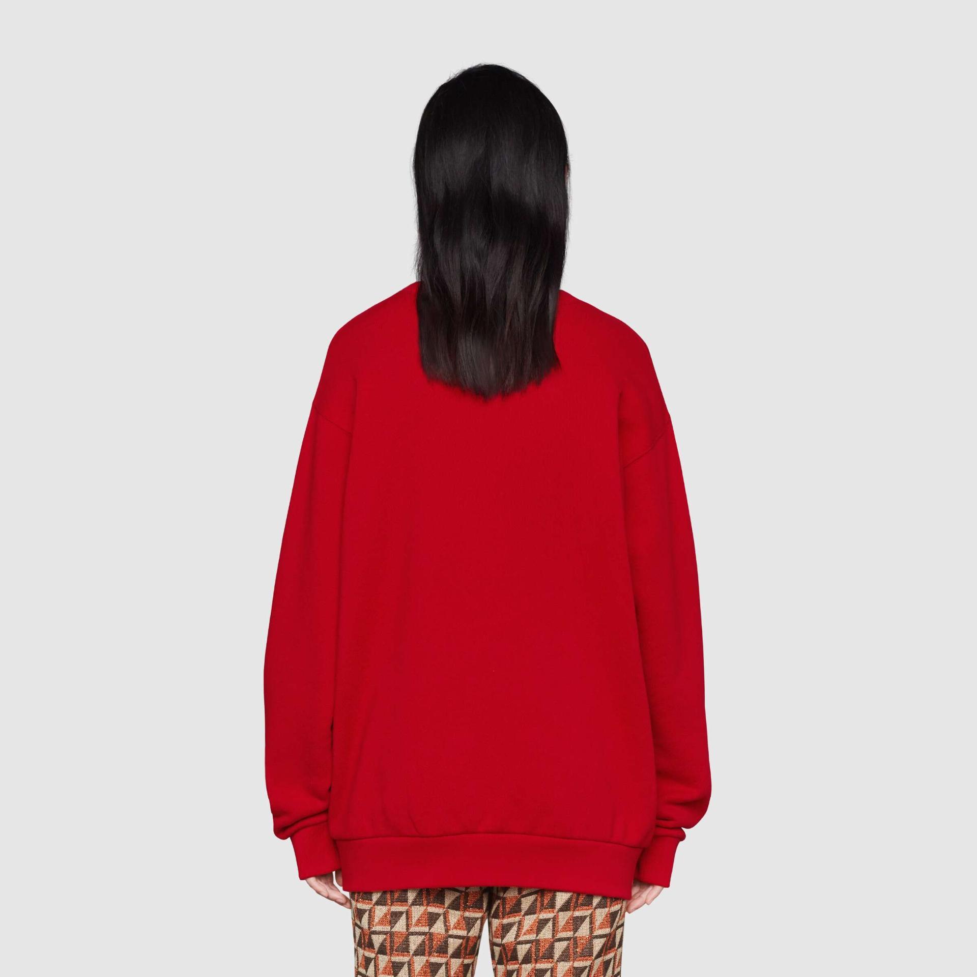 유럽직배송 구찌 GUCCI Gucci - Disney x Gucci Donald Duck sweatshirt 617964XJDC16429