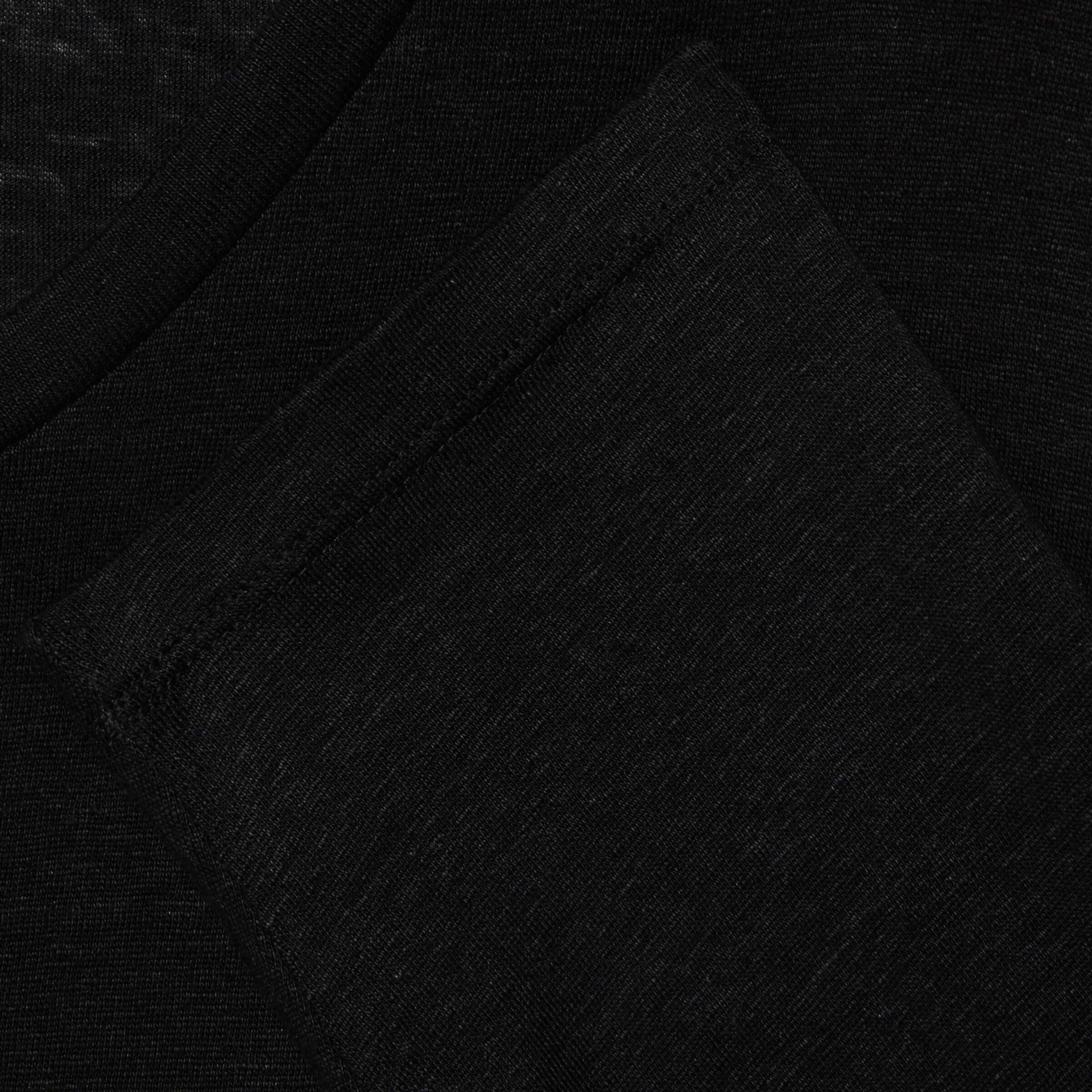 유럽직배송 구찌 GUCCI Gucci Linen V-neck T-shirt with Double G 645270XJC6N1043