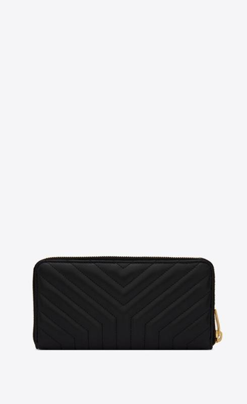 유럽직배송 입생로랑 SAINT LAURENT joan zip-around wallet in y-quilted leather 650982DV7011000