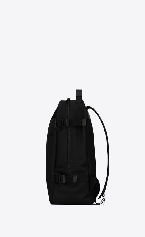 유럽직배송 입생로랑 SAINT LAURENT city trekking backpack in nylon 6497652NC6Z1000