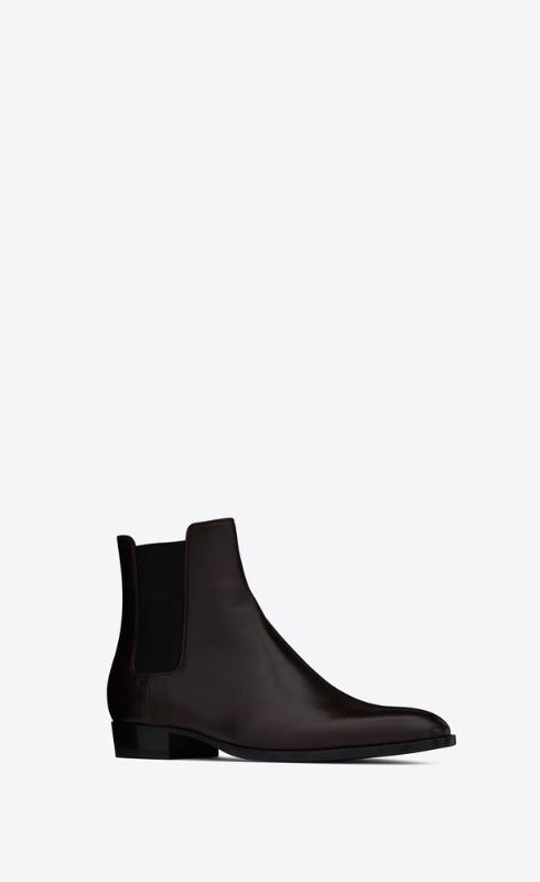 유럽직배송 입생로랑 SAINT LAURENT wyatt chelsea boots in smooth leather 6341952PN002704