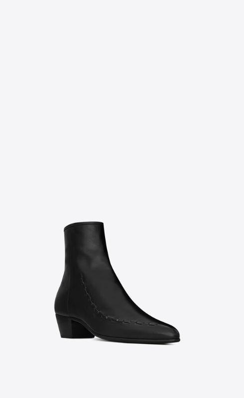 유럽직배송 입생로랑 SAINT LAURENT casey ankle boots in smooth leather 6489930UX001000