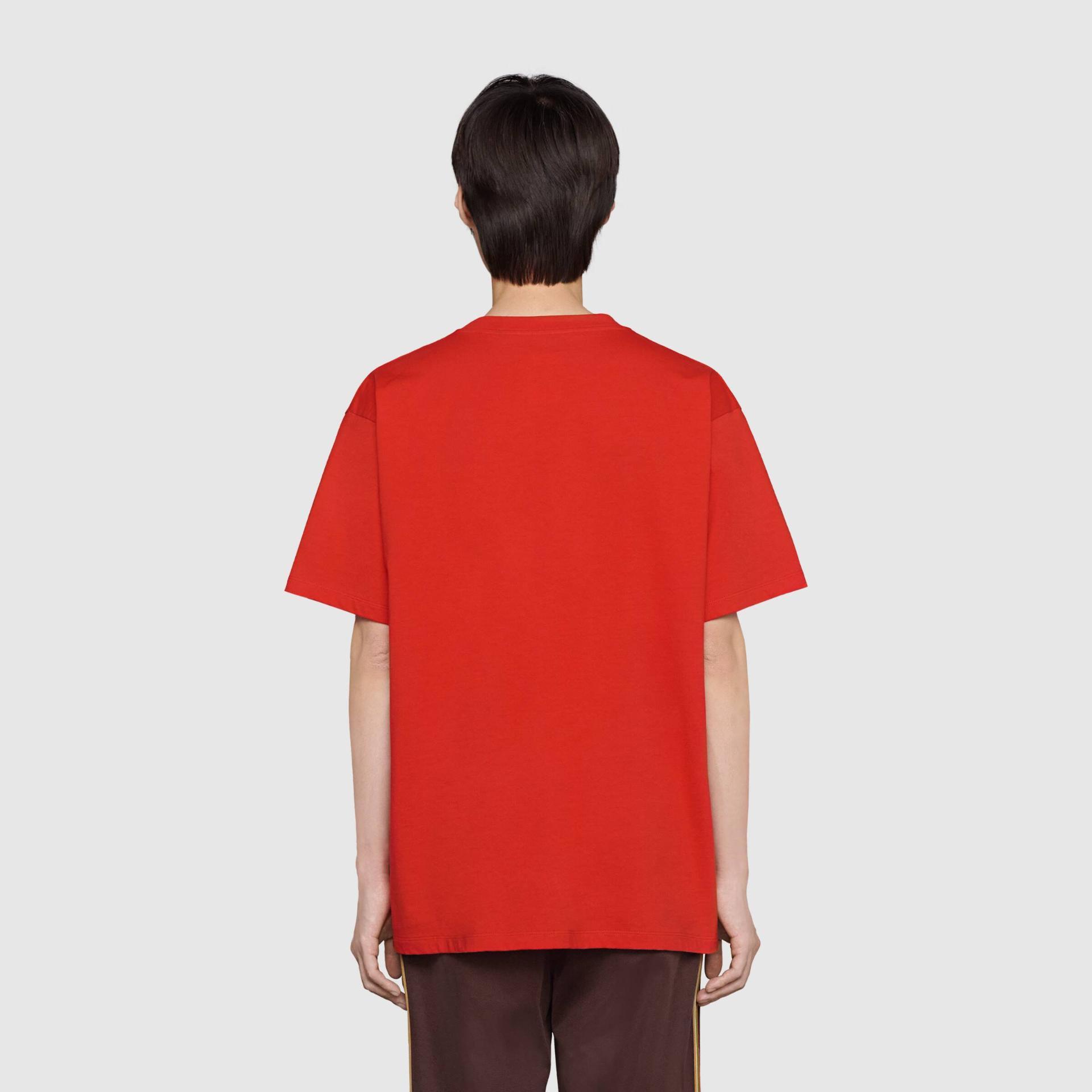 유럽직배송 구찌 GUCCI Gucci - Doraemon x Gucci oversize T-shirt 616036XJDEY6429