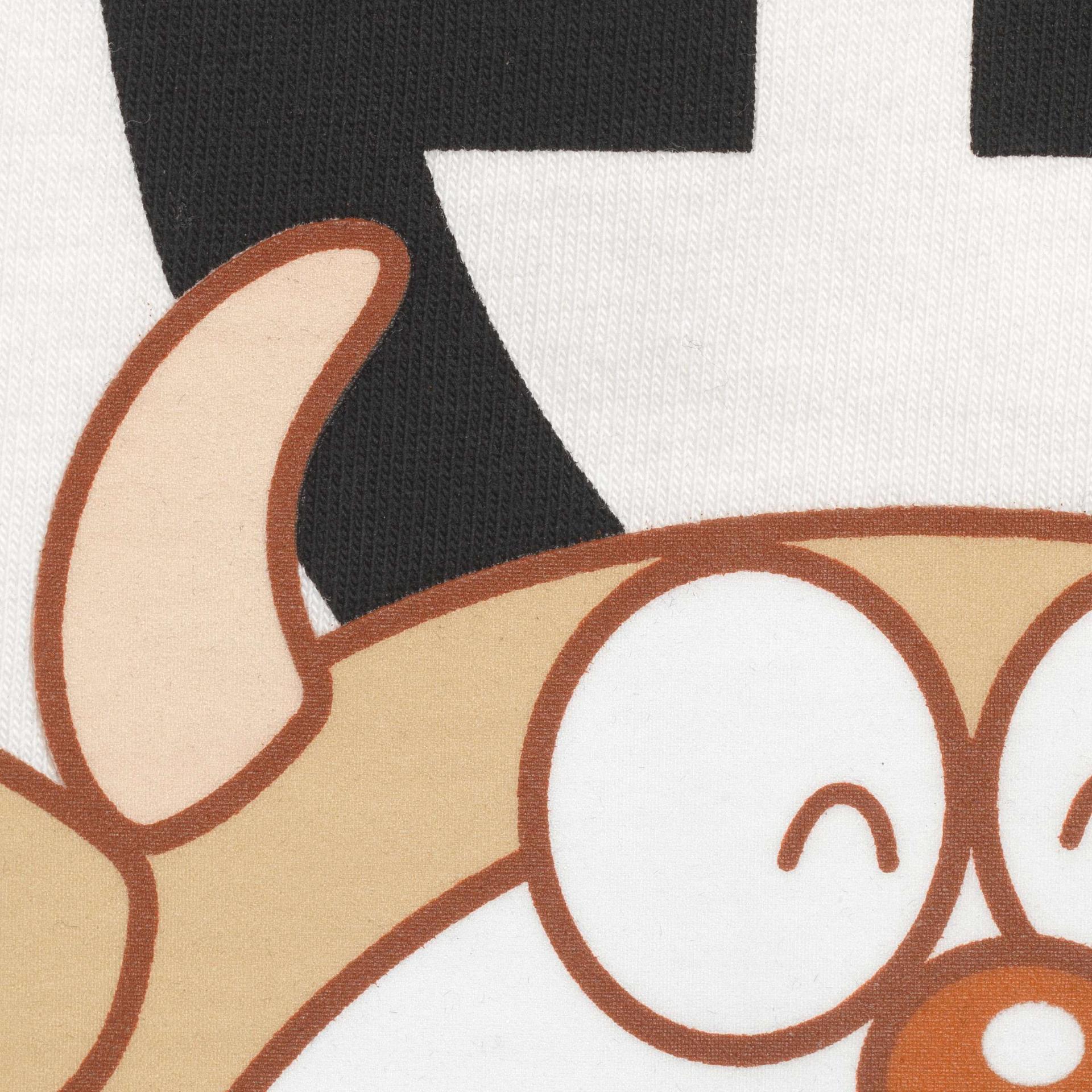 유럽직배송 구찌 GUCCI Gucci - Doraemon x Gucci oversize T-shirt 616036XJDEY9791