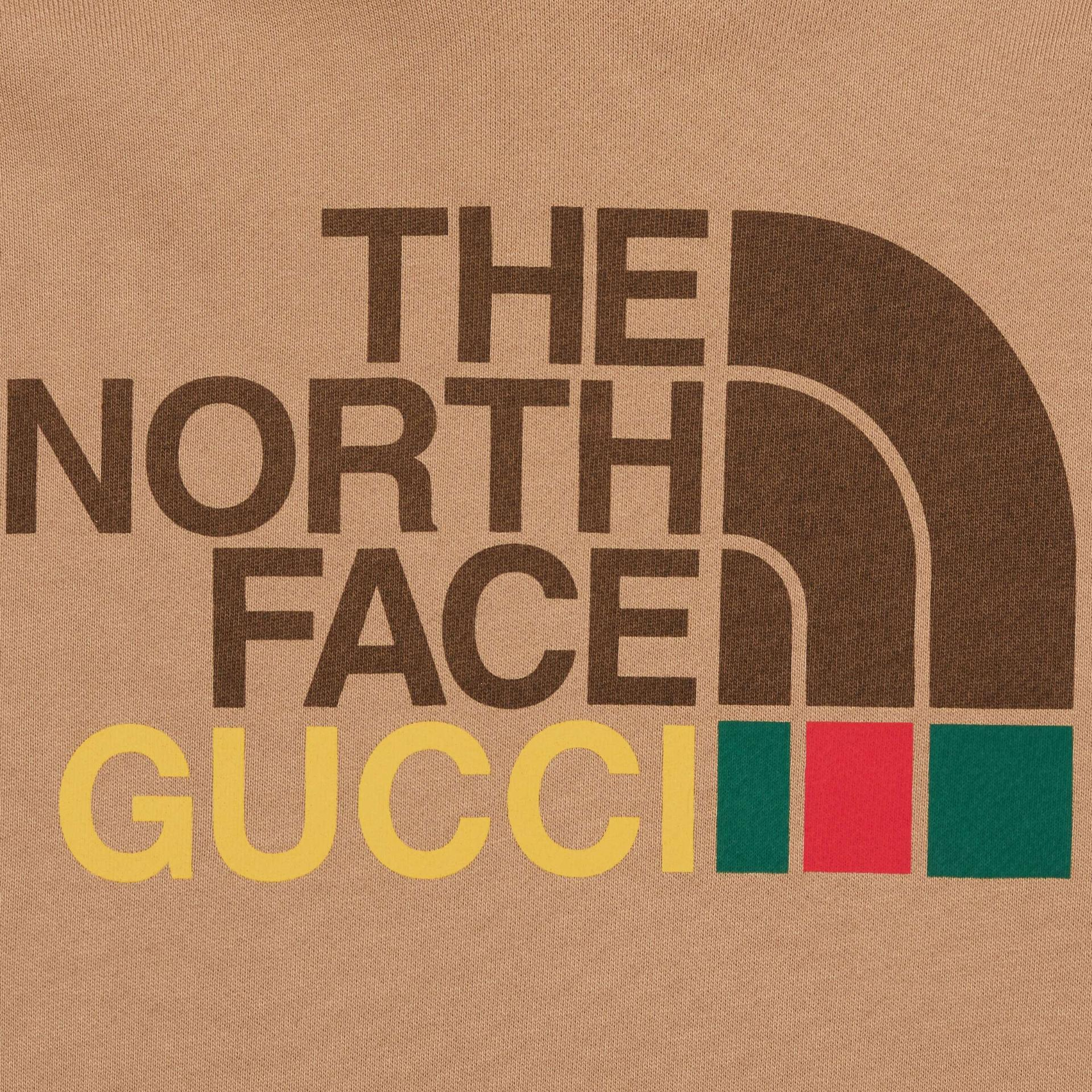 유럽직배송 구찌 GUCCI Gucci - The North Face x Gucci cotton sweatshirt 615061XJDBY2597