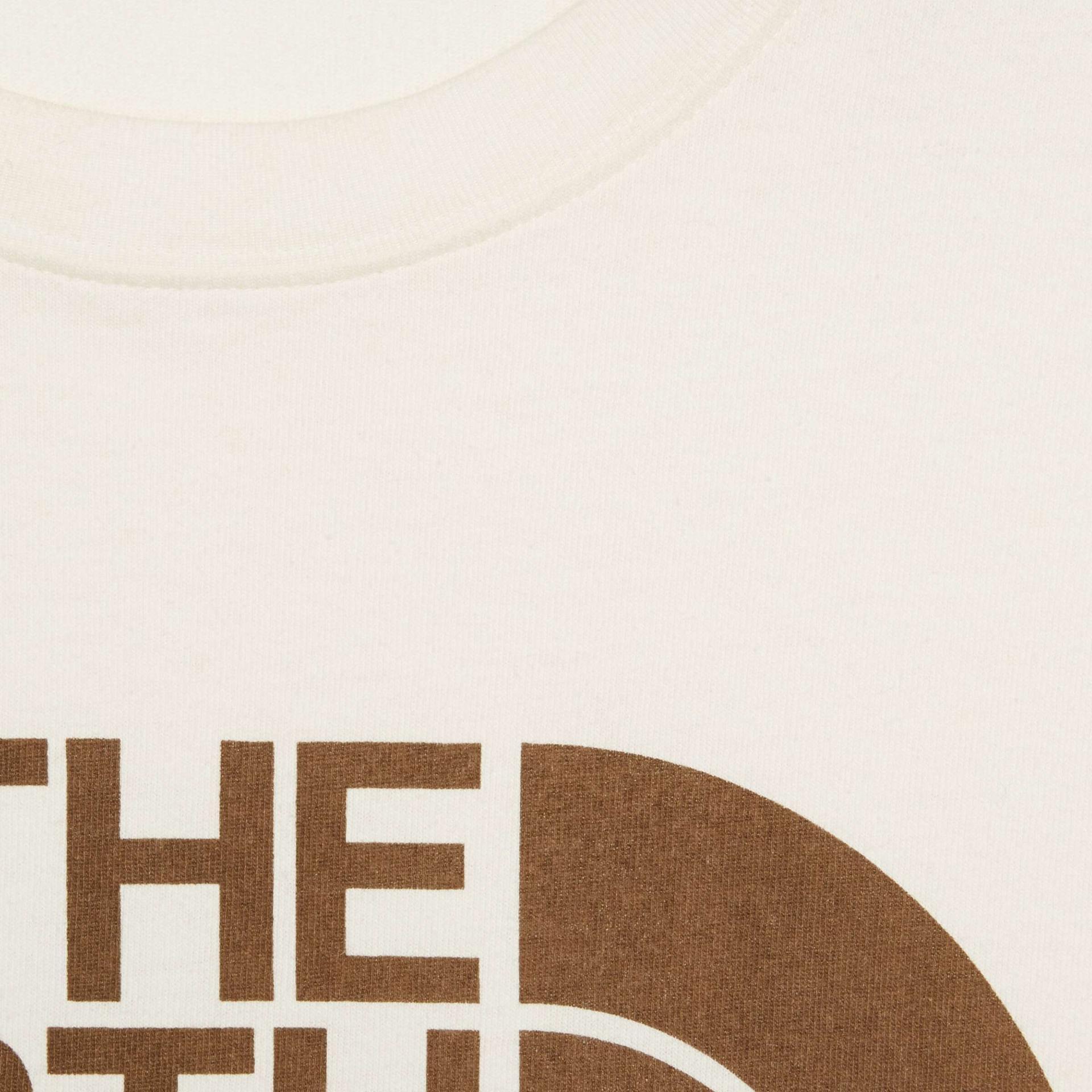 유럽직배송 구찌 GUCCI Gucci - The North Face x Gucci oversize T-shirt 616036XJDCL9756
