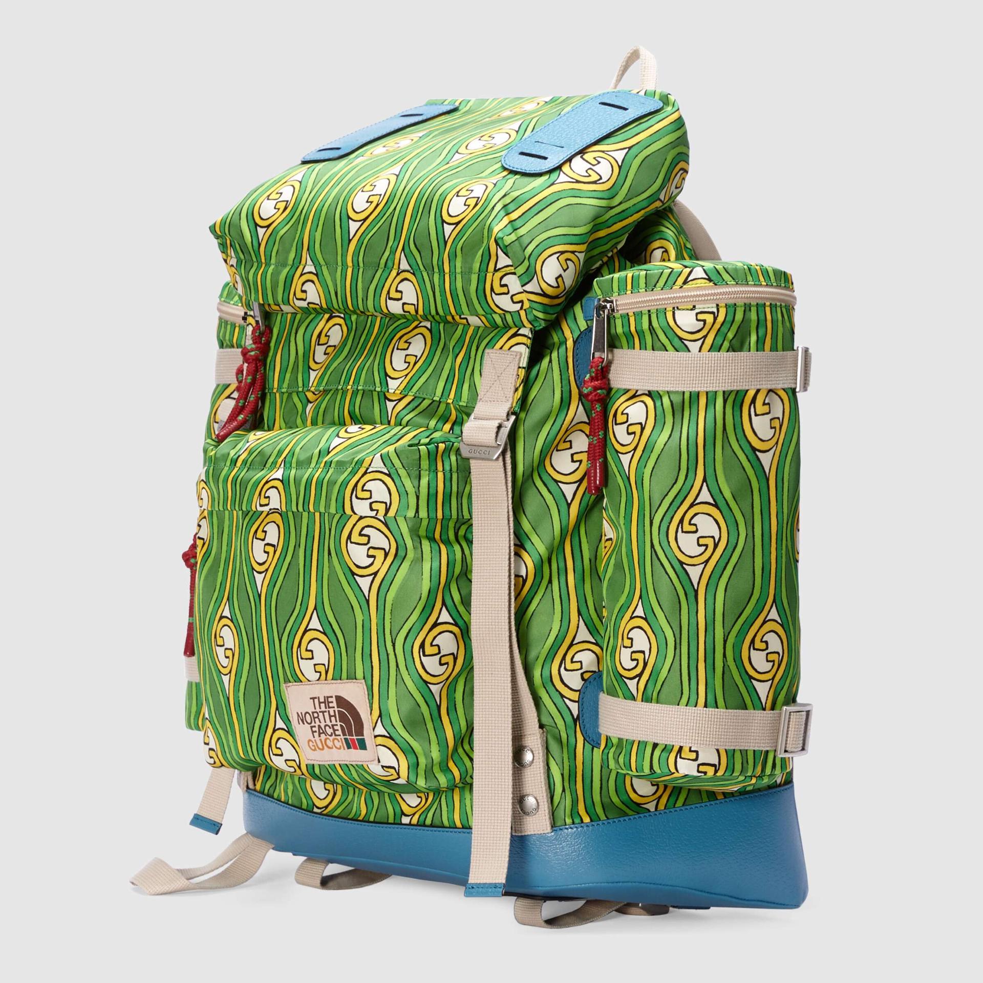 유럽직배송 구찌 GUCCI Gucci - The North Face x Gucci large backpack 6502942QTBN3186