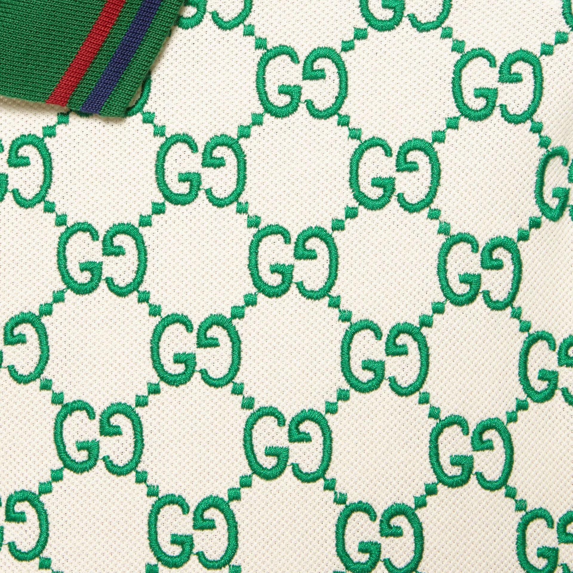 유럽직배송 구찌 GUCCI Gucci GG stretch cotton polo 598956XJB0U9063