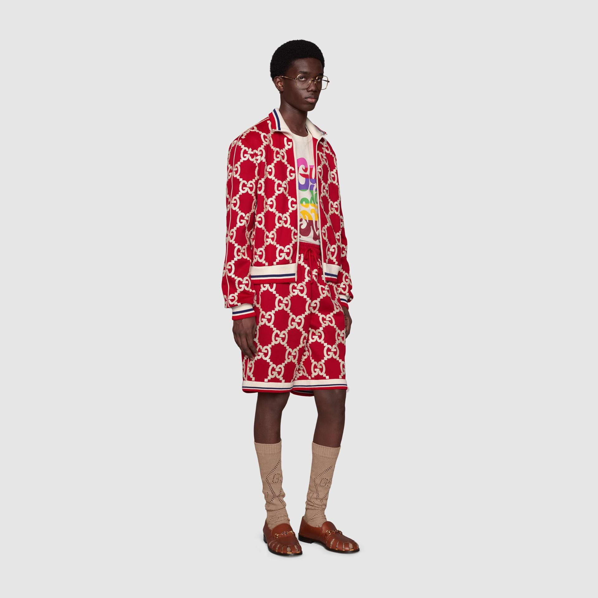 유럽직배송 구찌 GUCCI Gucci - 'Gucci Prodige d'Amour' print T-shirt 548334XJDAM9095