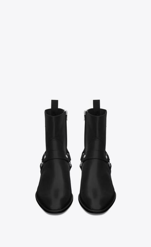 유럽직배송 입생로랑 SAINT LAURENT wyatt harness boots in smooth leather 6342252PY001000