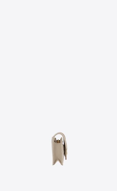 유럽직배송 입생로랑 SAINT LAURENT monogram card case in mix matelassé grain de poudre embossed leather 651027BOWT19207