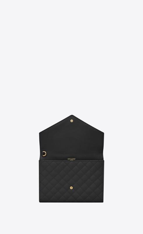 유럽직배송 입생로랑 SAINT LAURENT monogram clutch in mix matelassé grain de poudre embossed leather 651030BOW911000