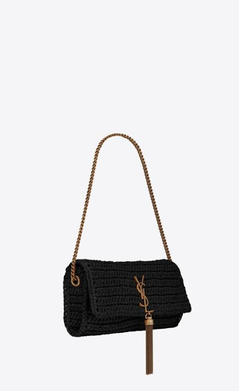 유럽직배송 입생로랑 SAINT LAURENT kate 99 with tassel in raffia and leather 604276GG66W1000