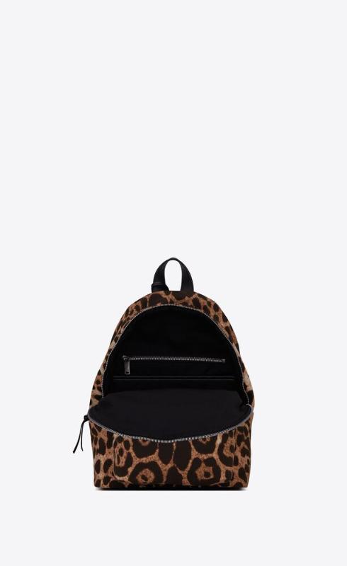 유럽직배송 입생로랑 SAINT LAURENT city mini backpack in leopard-print canvas 6506172QL3E2094