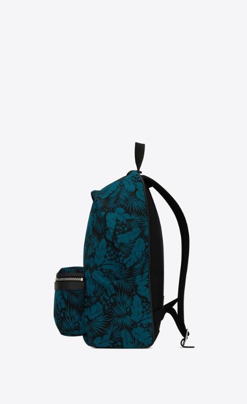 유럽직배송 입생로랑 SAINT LAURENT city backpack in tropical canvas 5349672ND1F1097