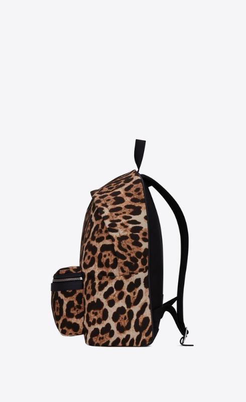 유럽직배송 입생로랑 SAINT LAURENT city backpack in leopard-print canvas 5349672QL5F2094