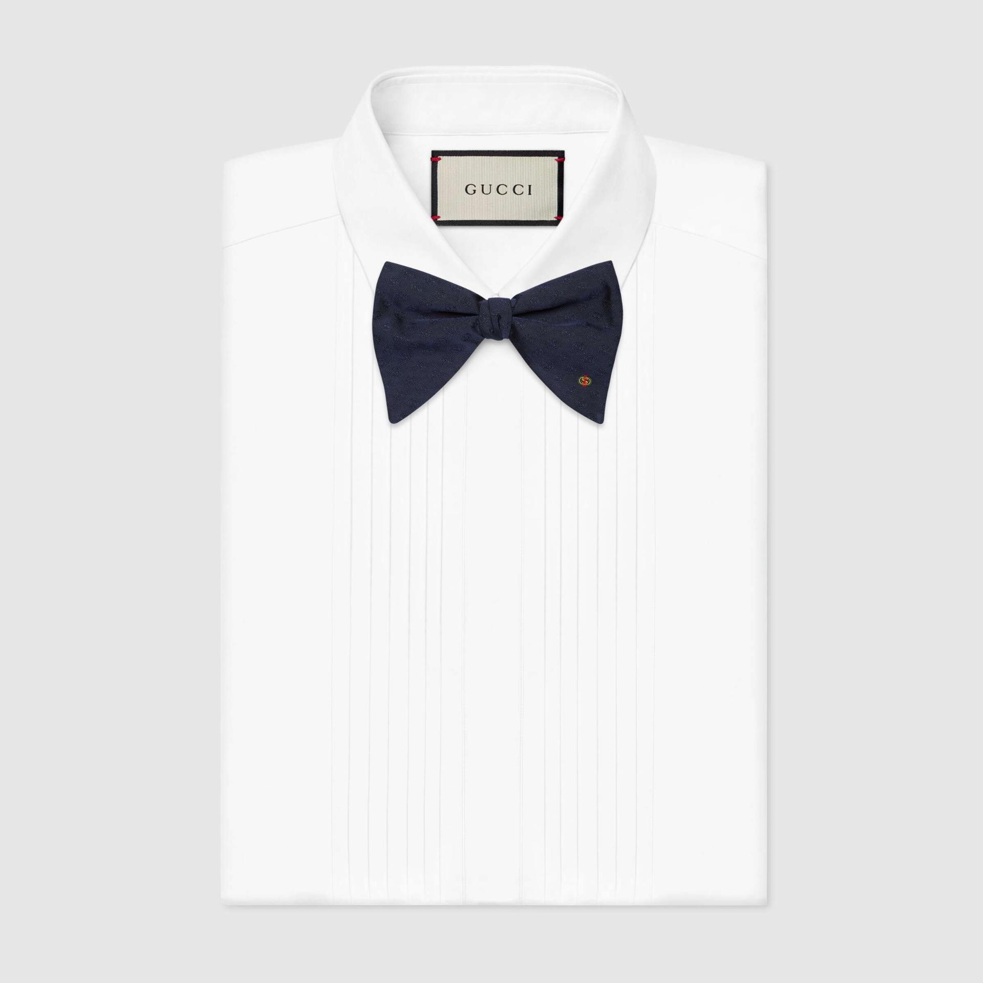 유럽직배송 구찌 GUCCI Gucci Silk bow tie 6582524G0094100