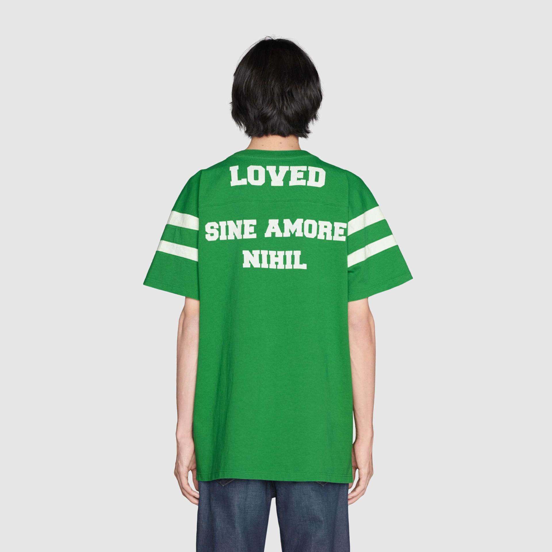 유럽직배송 구찌 GUCCI Gucci T-shirt 'To Hug a Snake' print 655459XJDJP3521