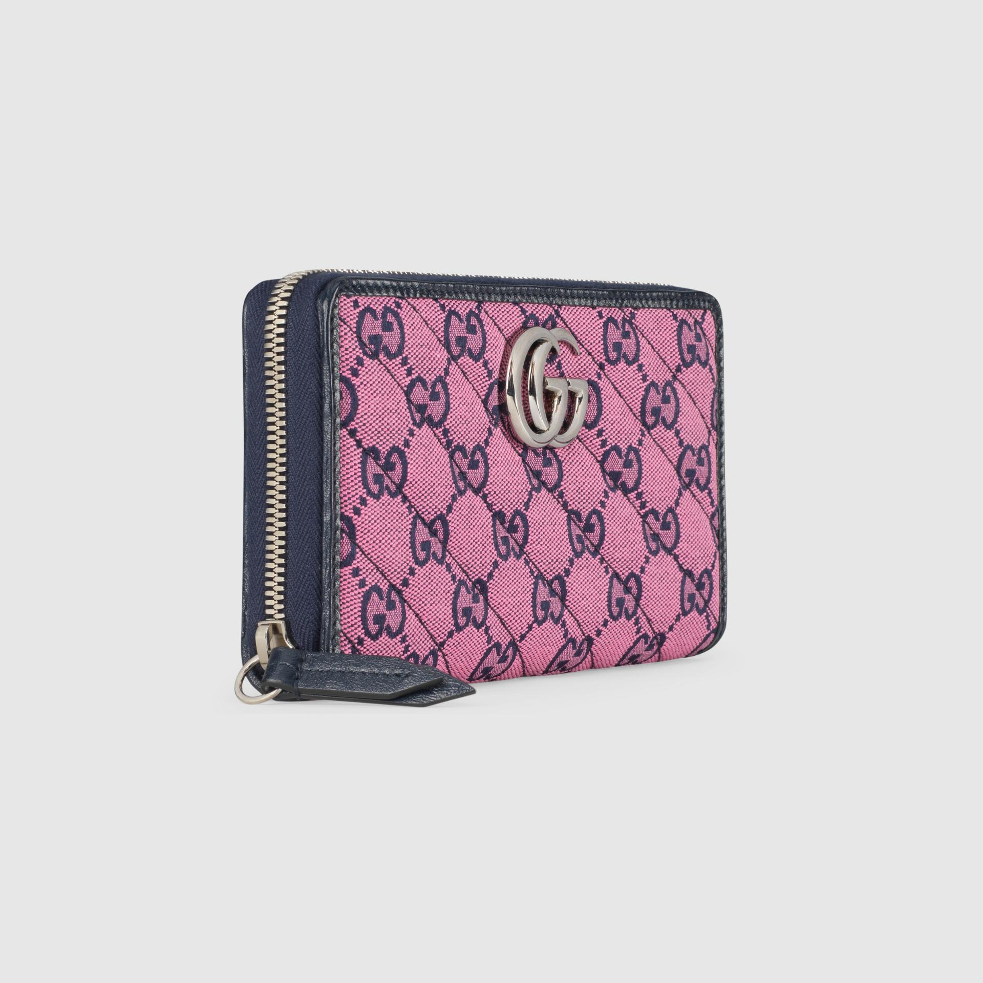 유럽직배송 구찌 GUCCI Gucci GG Marmont Multicolour zip around wallet 4431232UZCN5279