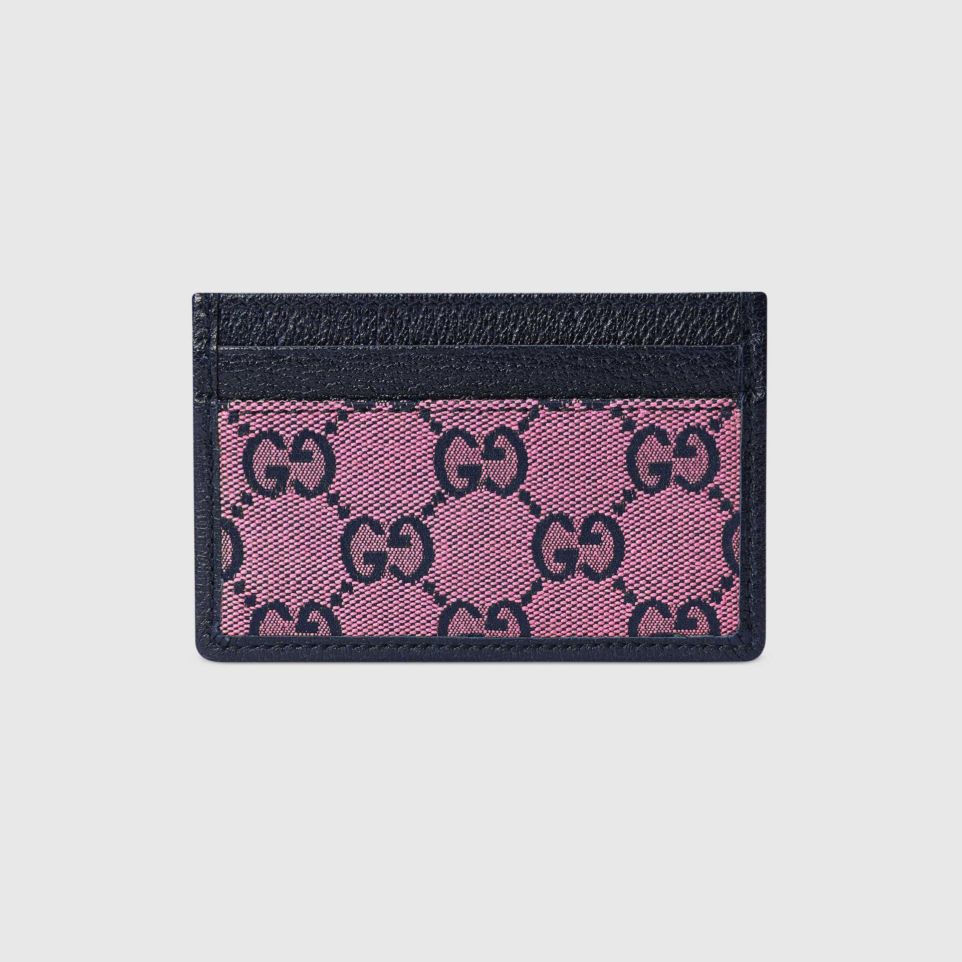 유럽직배송 구찌 GUCCI Gucci GG Multicolour card case wallet 6596012UZAN5279