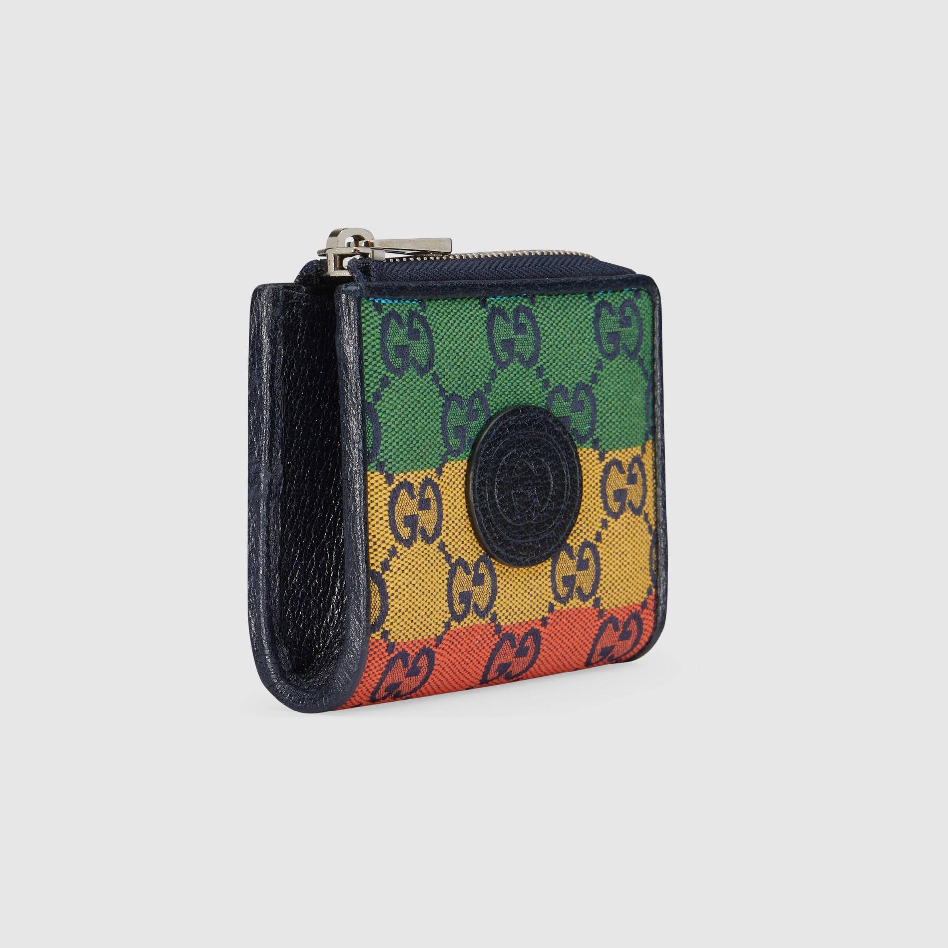 유럽직배송 구찌 GUCCI Gucci GG Multicolour mini wallet 6575772U0AN4368
