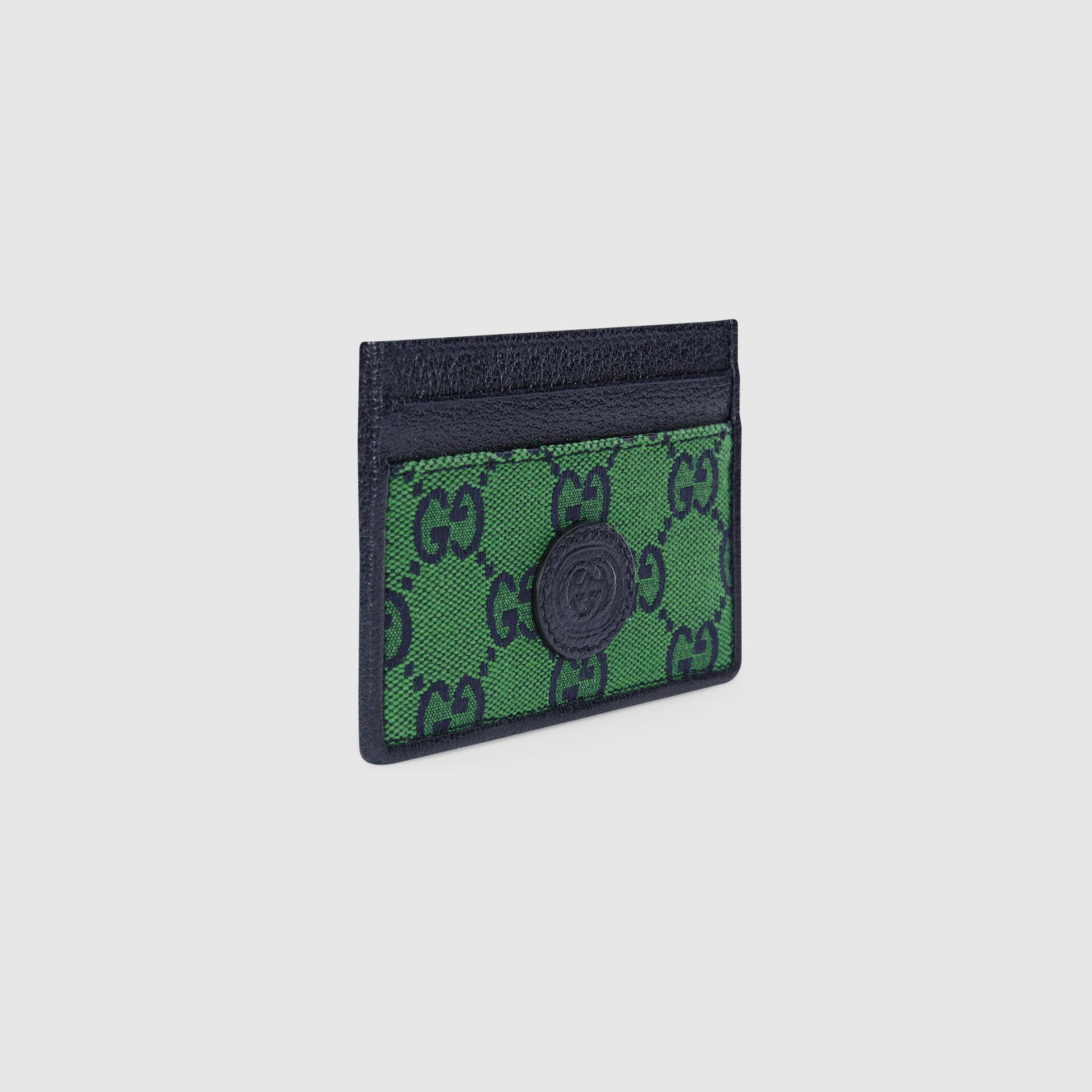 유럽직배송 구찌 GUCCI Gucci GG Multicolour card case wallet 6596012UZAN3368